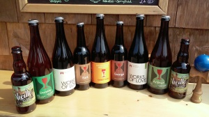 Collection of Hill Farmstead's Finest.