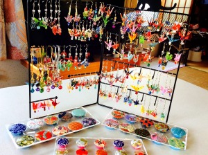 Mom's Japanese trinkets (will be on sale this season at Miso Hungry)